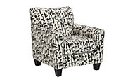 Ashley Brindon Script Accent Chair