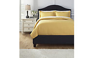 Ashley Raleda Yellow 3-Piece Queen Coverlet Set