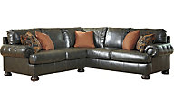 Ashley Nesbit Bonded Leather 2-Piece Sectional