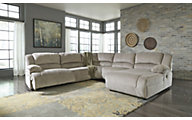 Ashley Toletta 5-Piece Right-Side Chaise Sectional