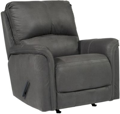 Ashley Ranika Gray Rocker Recliner