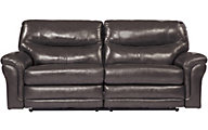 Ashley Banetonville Leather Power Reclining Sofa