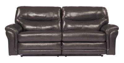 Ashley Banetonville Leather Reclining Sofa