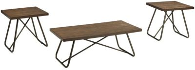 Ashley Endota Coffee Table & 2 End Tables