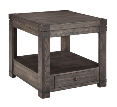 Ashley Burladen End Table with Drawer