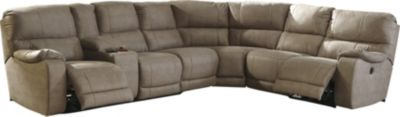 Ashley Bohannon Taupe 4-Piece Reclining Sectional