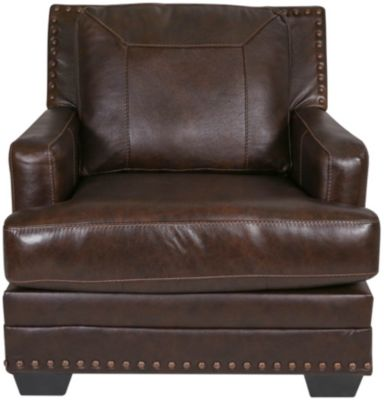 Ashley Corvan Leather Chair