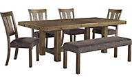 Ashley Tamilo 6-Piece Dining Set