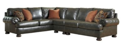 Ashley Nesbit Bonded Leather 3-Piece Sectional