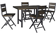 Ashley Kavara Counter Table & 4 Stools