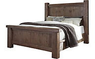 Ashley Tamilo California King Poster Bed