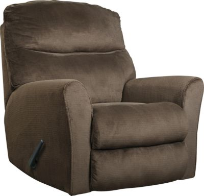 Ashley Cossette Chocolate Rocker Recliner