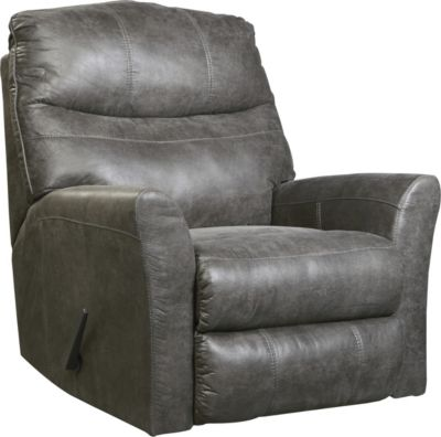 Ashley Tullos Gray Rocker Recliner