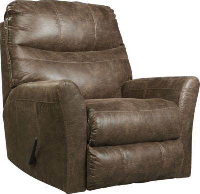 Ashley Tullos Coffee Rocker Recliner