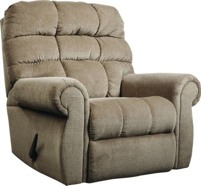 Ashley Edger Almond Rocker Recliner