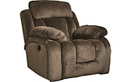 Ashley Stricklin Chocolate Rocker Recliner