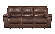 Ashley Penache Leather Power Reclining Sofa