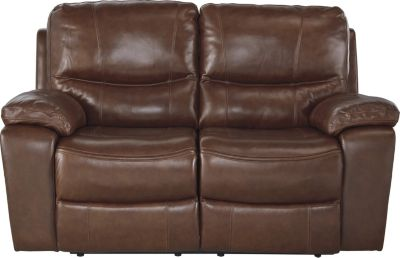 Ashley Penache Leather Reclining Loveseat