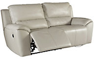 Ashley Valeton Leather Reclining Sofa