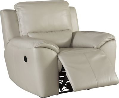 Ashley Valeton Leather Power Recliner