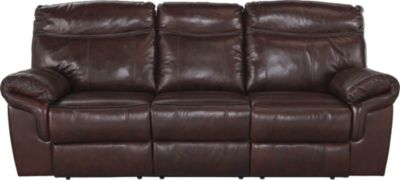 Ashley Zephen Leather Reclining Sofa