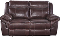 Ashley Zephen Leather Reclining Loveseat