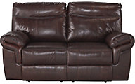 Ashley Zephen Leather Power Reclining Loveseat