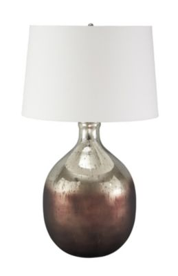 Ashley Tabish Glass Table Lamp