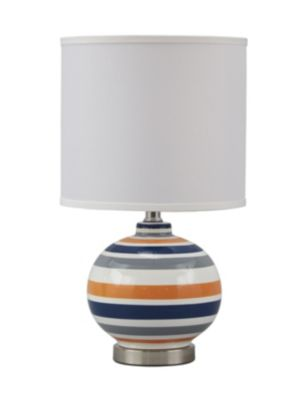 Ashley Sirene Blue/Orange Table Lamp