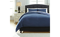Ashley Sensu Denim 3-Piece King Duvet Cover Set