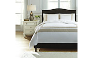 Ashley Andor White Sand 3-Piece Queen Duvet Cover Set