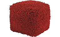 Ashley Taisce Red Pouf