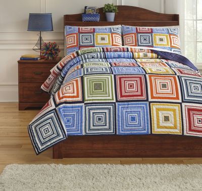 Ashley Tazzoni 3-Piece Full Coverlet Set