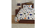 Ashley Varias 2-Piece Twin Comforter Set