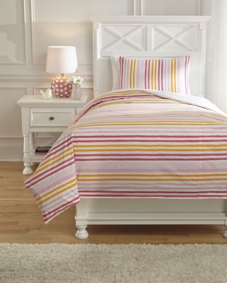 Ashley Genista 2-Piece Twin Duvet Set