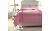 Ashley Megara 3-Piece Full Quilt Set