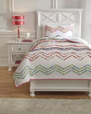 Ashley Lacentera 2-Piece Twin Quilt Set
