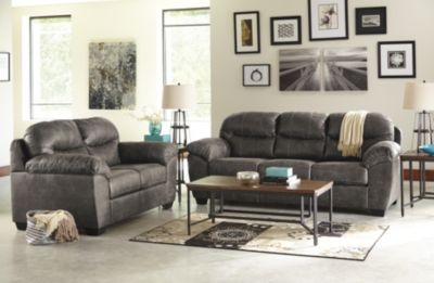 Ashley Havilyn Sofa, Loveseat & 3 Piece Table Set