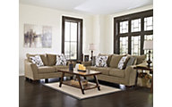 Ashley Mykla Sofa, Loveseat & 3 Piece Table Set