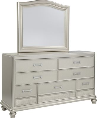 Ashley Coralayne Dresser with Mirror
