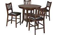 Ashley Renaburg Counter Table & 4 Stools