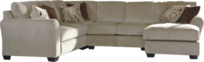 Ashley Hazes Left-Side Loveseat 4-Piece Sectional