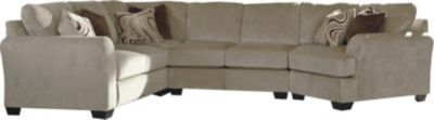 Ashley Hazes Right-Side Chair 4-Piece Sectional