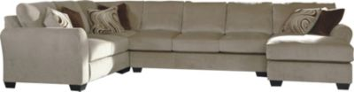 Ashley Hazes Right-Side Chaise 4-Piece Sectional