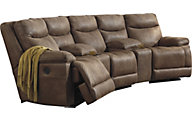 Ashley Valto 5-Piece Power Sectional with Console