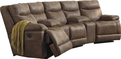 Ashley Valto 5-Piece Sectional with Console