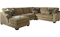 Ashley Lonsdale Right-Side Chaise 4-Piece Sectional