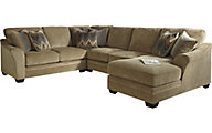 Ashley Lonsdale Left-Side Chaise 4-Piece Sectional