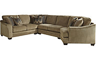Ashley Lonsdale Right-Side Chair 4-Piece Sectional