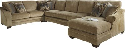 Ashley Lonsdale Armless Sofa 4-Piece Sectional